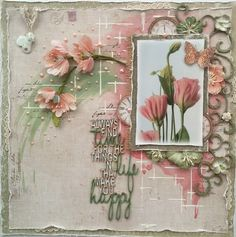 Wishing for Spring {Dusty Attic, Shimmerz Paints and Maja Design}   Such a pretty mess   Bloglovin'