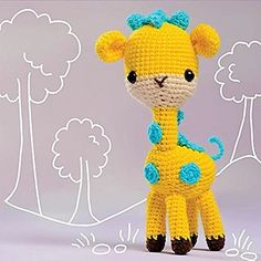 Huggable Amigurumi – 18 Cute and Cuddly Animal Softies Martingale – Huggable Amigurumi (Print version + eBook bundle) Giraffe Pattern, Softies, Great Gifts, Projects To Try, Crochet Patterns, Cute Animals, Stitch, Sweet, Ravelry