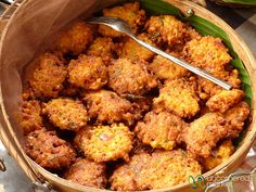 Fried Corn Cakes - Bali, Indonesia by uncorneredmarket, via Flickr