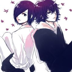 Touka and Ayato