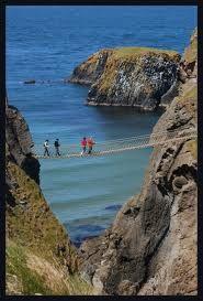 Carrick-a-Rede rope bridge, N Ireland