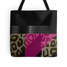 Fancy Brown Pink Cheetah Abstract  by OCDesigns2 #accessories #bags #tote #ocdesigns2 #products