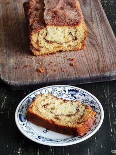 Make this delicious Cinnamon Raisin Swirl Quick Bread from AmandasCookin.com @amandaformaro