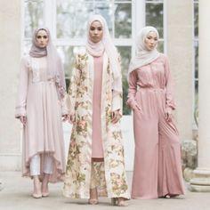 Source: @AabCollection  #pink #abaya #muslimah #hijabi #dress