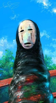 Spirited Away Fan Art by Sergey Svistunov Where's the Miyazaki inspired cirque. Hayao Miyazaki, Studio Ghibli Art, Studio Ghibli Movies, Chihiro Y Haku, Chibi, Japon Illustration, Howls Moving Castle, Spirited Away, Fanarts Anime