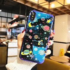 "The Outer Space iPhone Case Available for iPhone 6/6s (4.7""),iPhone 6/6s Plus (5.5""),iPhone 7/8 (4.7"") , iPhone7Plus/8Plus (5.5""),and iPhone XProtects your phone from scratches and damage.Made of soft case,vivid laser printing with uv protection layer on the surface.Accurate holes design, fits your iPhone perfectlyBrand new with box. Find more unique phone cases please visit our FANCY shop."