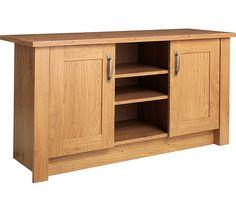 Buy Collection Ohio 2 Door TV Unit Low Sideboard