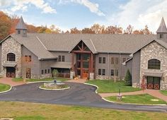 Luxury Horse Stables | by Dream Barn: A series Would have completed the brick across the fronts