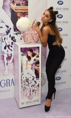 "November 4: Ariana at ""Ari By Ariana Grande"" Launch Party at Boots in London, England. [AI] ~Moonlight✨"