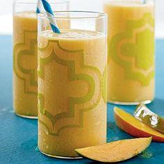 Mango Smoothie Recipe   MyRecipes.com