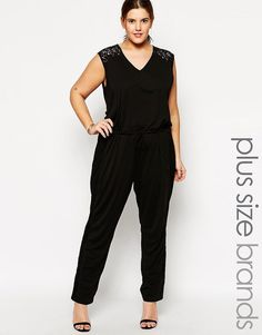 Carmakoma Lace Detail Jumpsuit >>> You can find more details by visiting the image link.