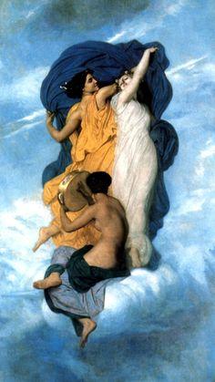 La Danse , 1850 - Adolphe-William Bouguereau (1825-1905)