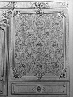 Орнаменты для росписи мебели и резьбы по дереву