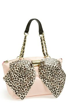 Betsey Johnson 'Bow-nanza' Satchel available at #Nordstrom