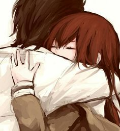 Imagem de anime, hug, and love Gate Pictures, Gate Images, Comic Manga, Manga Anime, Gate Anime, Fan Art, Neko, Steins Gate 0, Kurisu Makise