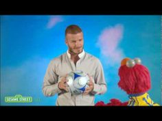 ▶ Sesame Street: David Beckham: PERSISTENT - YouTube