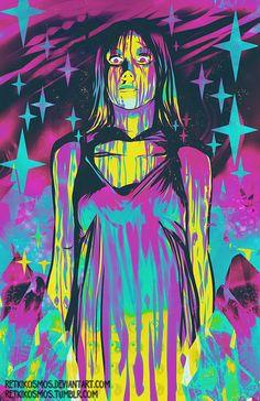 Neon Horror IV: Carrie by RetkiKosmos