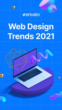 Which #webdesign trends will take the web by storm over the next year? Our Envato experts give us their top trends to watch out for in 2021.