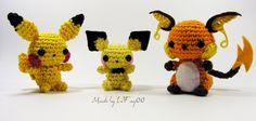 Mini-Pokémon de crochê: o nome disso é covardia