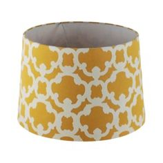 yellow and white lamp shade - Google Search