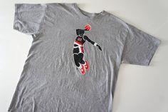 "Vintage Clyde ""the Glide"" Drexler T-shirt (XL) $22"