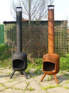 Fun outdoor fireplaces. Tuinhark