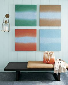 Ombre Craft Projects - Martha Stewart DIY Decorating