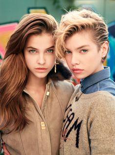 Barbara Palvin and Stella Maxwell by David Mushegain for Vogue Nippon November 2013