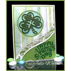 Check out the deal on Shamrock Die at Serendipity Stamps