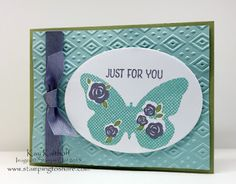 Stamping to Share: Stampin' Rewards Set - Floral Wings - with the How To Video