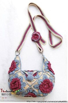 INCREDIBLY BEAUTIFUL BAGS, crochet