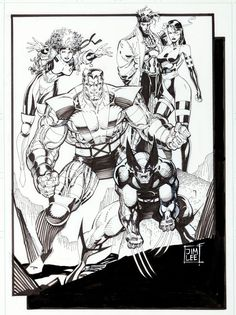 Free Coloring Page 171 Coloring Adult Xmen 187 X Men Characters