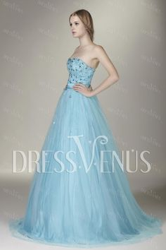 Gorgeous Sweetheart Floor-Length Beading Sasha's Prom/Ball Gown Dress