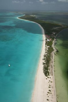 Lighthouse Bay Beach, Barbuda – 17 miles of pristine, uninterrupted shoreline. #Caribbean