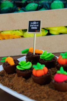 Fruit garden themed birthday party via Kara's Party Ideas! KarasPartyIdeas.com