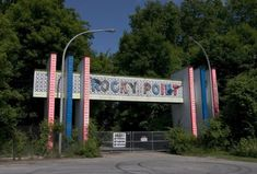 Abandoned Rocky Point Amusement Park, Rhode Island USA. (images via robotfotomat, n00, pedromouraphinheiro, brilliantchang)