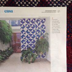 Lurca na matéria sobre azulejos hj no Estadão! Nossos azulejos no projeto lindo do @casa14arquitetura ;-] // Shop Online www.lurca.com.br/ #azulejos #azulejosdecorados #revestimento #arquitetura #reforma #decoração #interiores #decor #casa #sala #design #cerâmica #tiles #ceramictiles #architecture #interiors #homestyle #livingroom #wall #homedecor