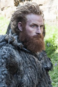 Image 14- Tormund Giantsbane from Game of Thrones, a great character that is the basis of my inspiration, he has the untamed hair and rough look to him. The beard colour and length would be changed but its a good basis.