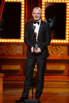 Tony Award winner Darko Tresnjak speaks onstage after winning Tony Award for Best Direction of a Musical for 'A Gentleman's Guide to Love and Murder' during the 68th Annual Tony Awards at Radio City Music Hall on June 8, 2014 in New York City.   Credit: Getty Images for Tony Awards Pro
