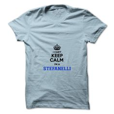 [Best t shirt names] I cant keep calm Im a STEFANELLI  Free Ship  Hey STEFANELLI are you feeling you should not keep calm then this is for you. Get it today.  Tshirt Guys Lady Hodie  SHARE and Get Discount Today Order now before we SELL OUT  Camping a correctional lieutenant shirt i cant keep calm im