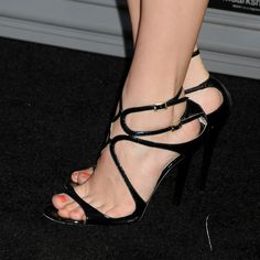 Chloe Grace Moretz in Jimmy Choo Sexy Sandals, Sexy Heels, Strappy Heels, Stiletto Heels, Chloe Grace Moretz Feet, Beautiful Heels, Hot High Heels, Fashion Heels, Hot Shoes