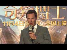 Cumberbatch en la gira promocional de Doctor Strange en Hong Kong y Shanghai | Benedict Cumberbatch en Español