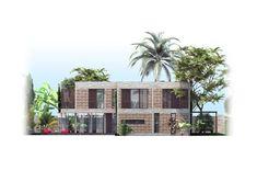 Casa en Thao Dien #2,Elevación