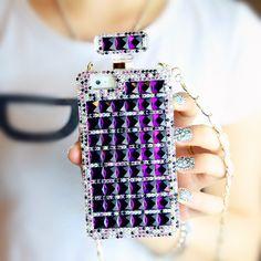 Kira #Superstar #Perfume Style #iPhone 5/5s #Case- #Purple
