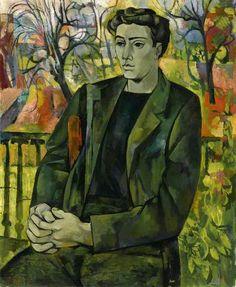 Boy in Landscape John Minton