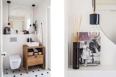 13 ideas buenísimas que necesitarás copiar en tu casa Home Decoracion, Floating Nightstand, House Tours, Table, Projects, Ideas, Cottage, Furniture, Bathroom