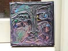 An Unfamiliar Face an abstract painting by HeartsideGallery,