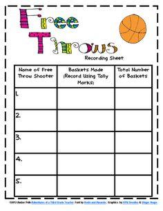 Adventures of a Polka-Dotted Teacher: Shootin' Some Hoops! Student Teaching, Math Teacher, Math Classroom, Fun Math, Math Activities, Math Resources, Maths, Fourth Grade Math, Second Grade Math