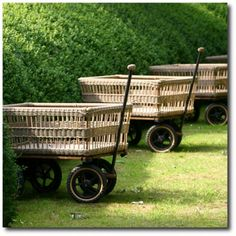 Chariot de Jardin - these are wonderful...