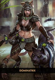 Bastet - Deusa dos Gatos - Deuses - SMITE - MOBA em terceira pessoa   Level Up!